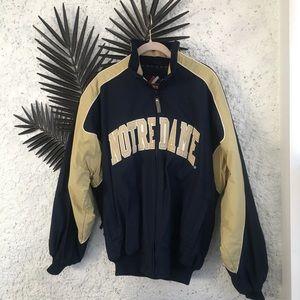 Majestic Notre Dame Jacket, Men's Sz M